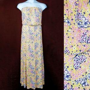 LILLY PULITZER Marlisa Starfruit Maxi Dress M